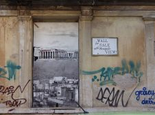 Wall for Sale - (Athens): Julia Tulke (Rochester, USA)